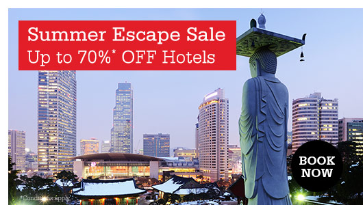Save up to 70% OFF Best Hotel Deals In Mid-Year Escape Sale at HotelClub.com