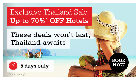 Save Up to 70% OFF Hotels In Thailand Sale at HotelClub.com