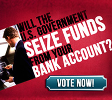 Could the government take money from your bank account?