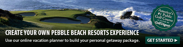 Create your own Pebble Beach Resorts experience.